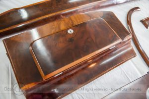 Classic Car dashboard and woodwork restoration